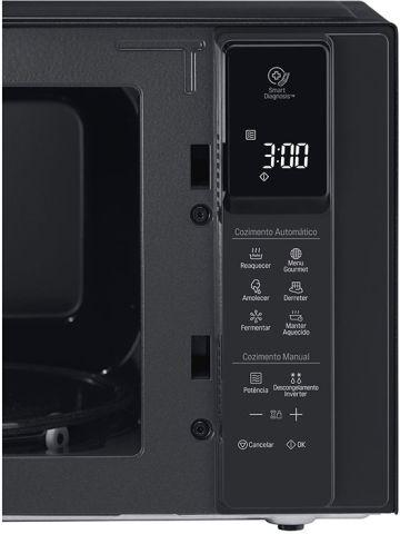 Como ajustar a potência do Microondas LG Smart Inverter MS4297
