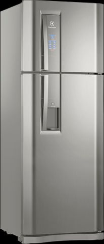 Medidas da Geladeira Electrolux 456 lts Frost Free com Flex Box - DW54X