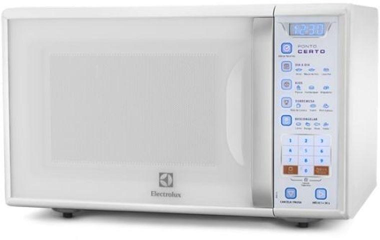 Como ajustar a potência do Microondas Electrolux 31 litros Grill Blue Touch MB41G