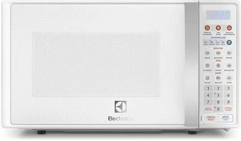 Medidas do Microondas Electrolux com Função Tira Odor 20 litros - MTO30