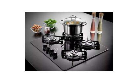 Manual do cooktop a gás Electrolux 4 bocas – GC60V