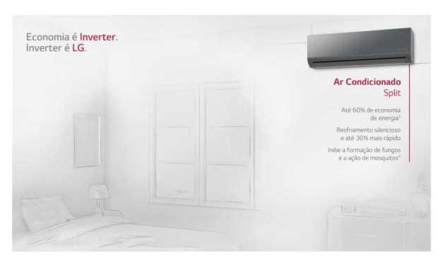 Solução de problemas ar condicionado LG 22000BTU Q/F – US-W242