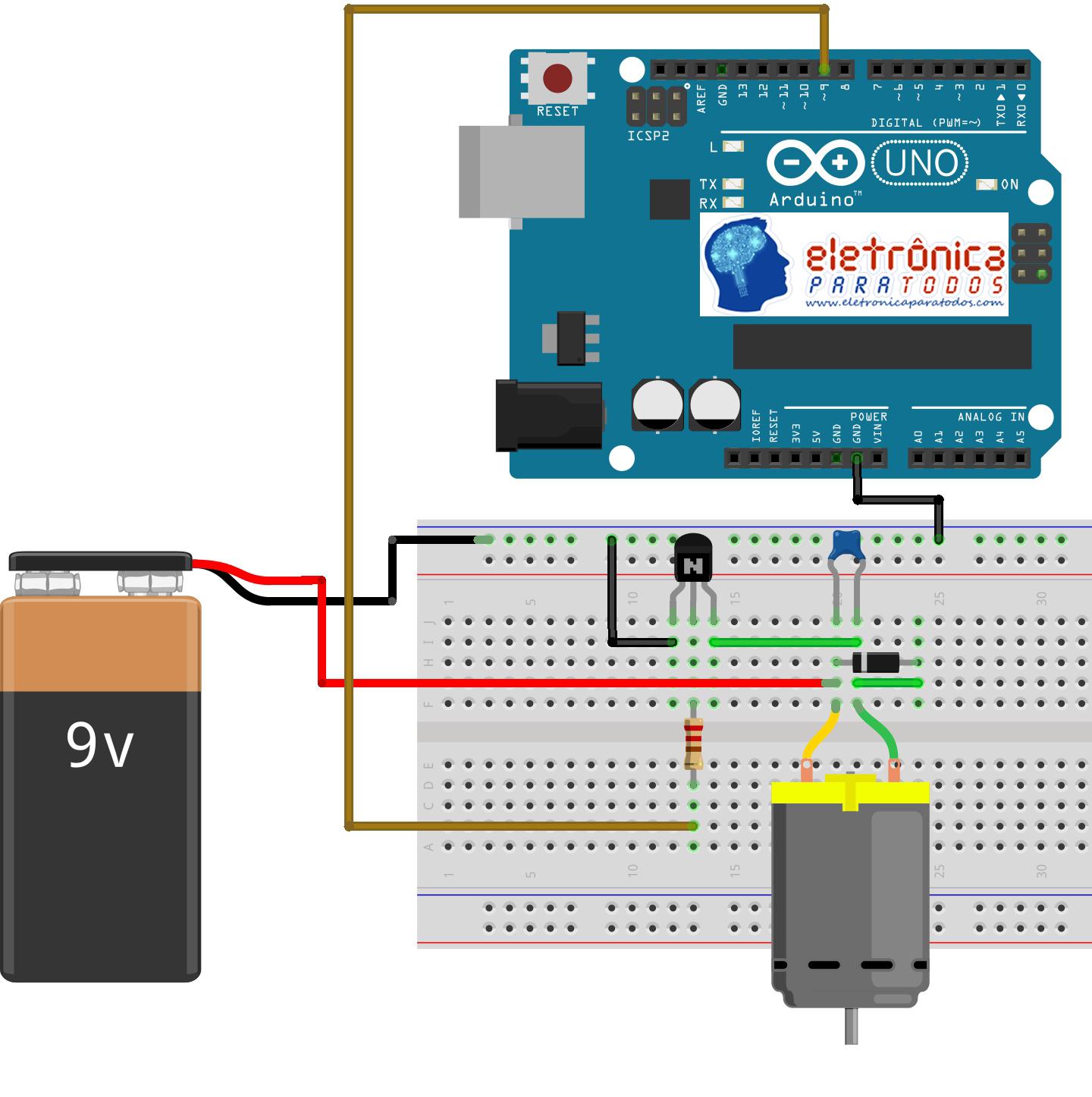 12 impulsos Codificador rodaje impulso donantes 12mm de pie con 6x15mm eje de plástico