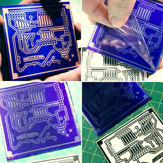 Placa circuito impresso fotografico 56