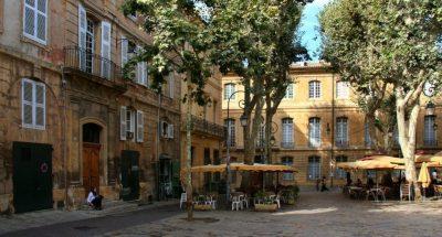 utazás lakóautóval Provence - Aix-en-Provence belváros