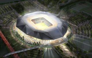 utazás lakóautóval Marseille - OM stadion (Olympique Marseille)