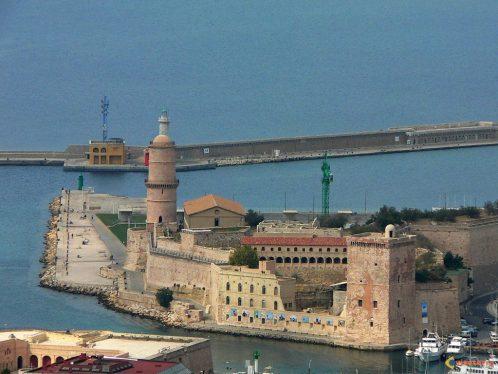 Utazás lakóautóval Marseille - Vieux Port, bejárat