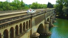 Utazás lakóautóval Béziers - Canal du Midi, csatornahíd