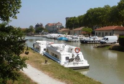 Utazás lakóautóval Carcassonne - Canal du Midi