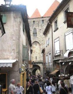 Utazás lakóautóval Carcassonne - Cité médiévale belülről