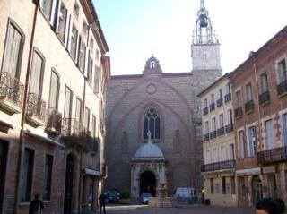 Úton Spanyolország felé - Perpignan katedrális külső