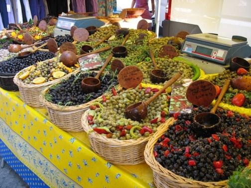 élménybeszámoló - Fete de l'Olive Canet 2014 - olajbogyó marché provencal