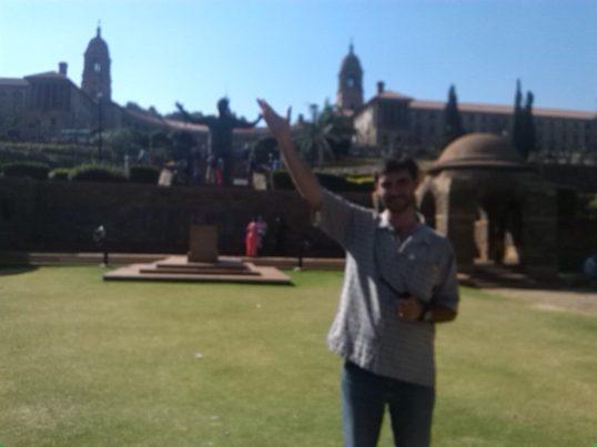 Dél-Afrika Nelson Mandela szobor
