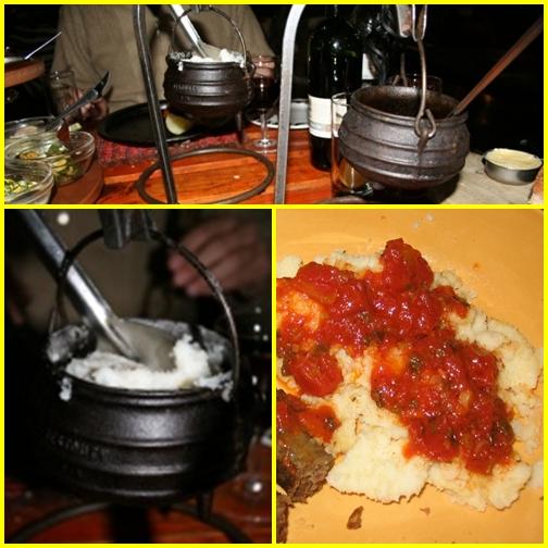 Étterem Dél-Afrikában - Carnivore, Pap és chakalaka bush baby-ben