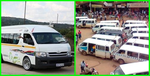 Járművek, közlekedés Dél-Afrikában - taxi, a feketék tömegközlekedési eszköze