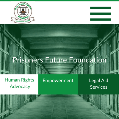 Web Design Zambia, Prisoners Future Foundation, Elev8 Marketing, Websites by Elev8 Marketing