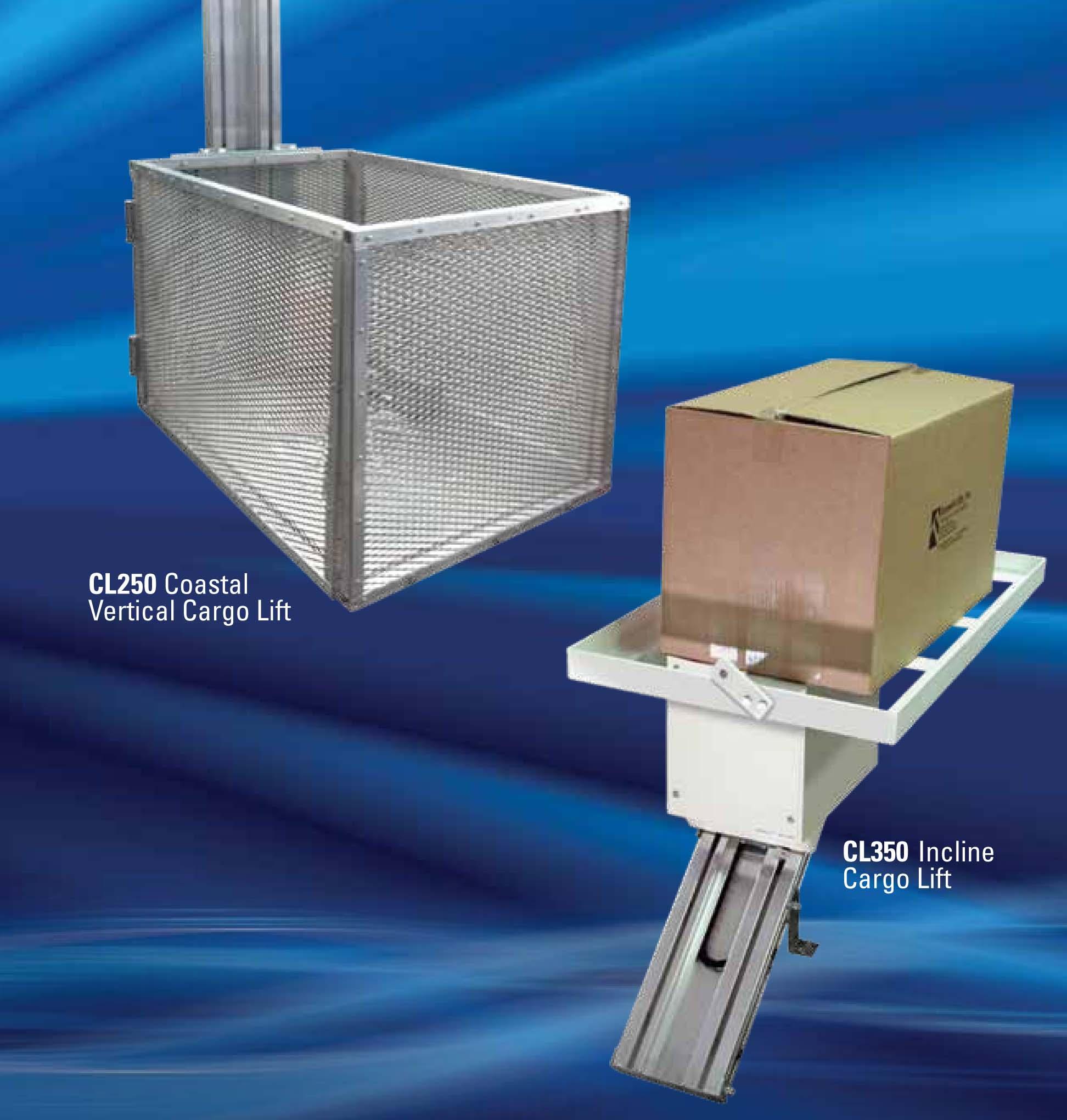 Sistema elevador Cargolift