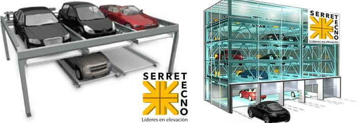 elevadores de auto para torres de estacionamiento