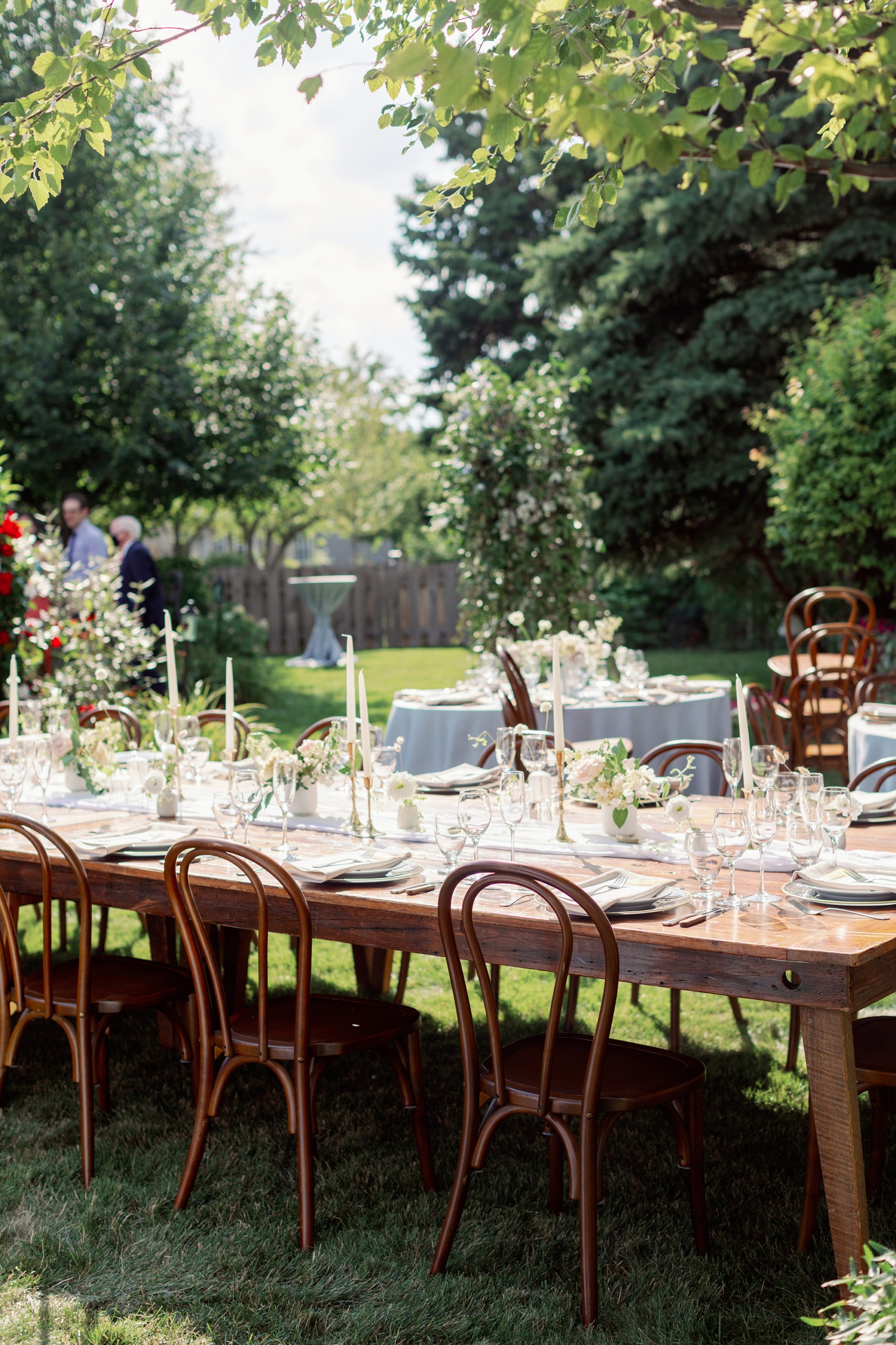 Intimate Backyard Summer Soiree