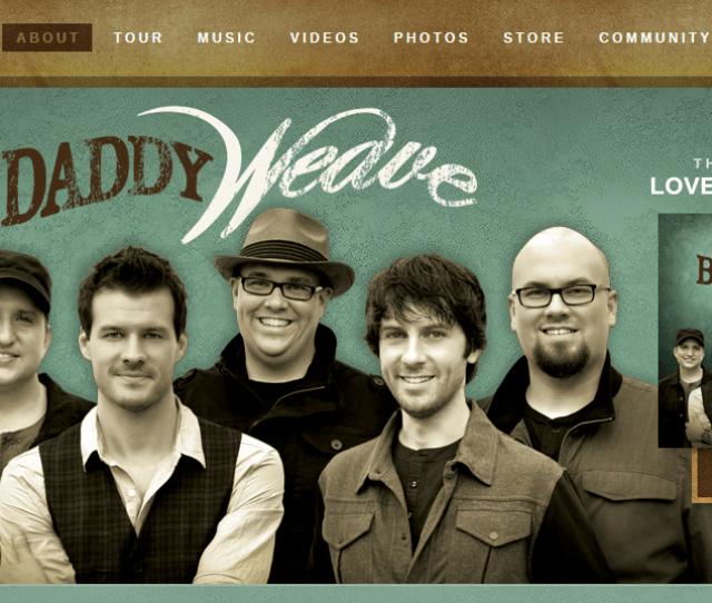 Big Daddy Weave Website