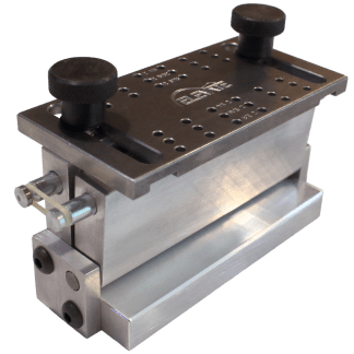 Pinless Bridge Drilling Jig and Drill Plate Luthier Tools Products Services