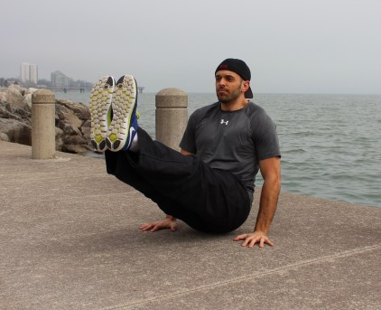 L-Sit on the Waterfront