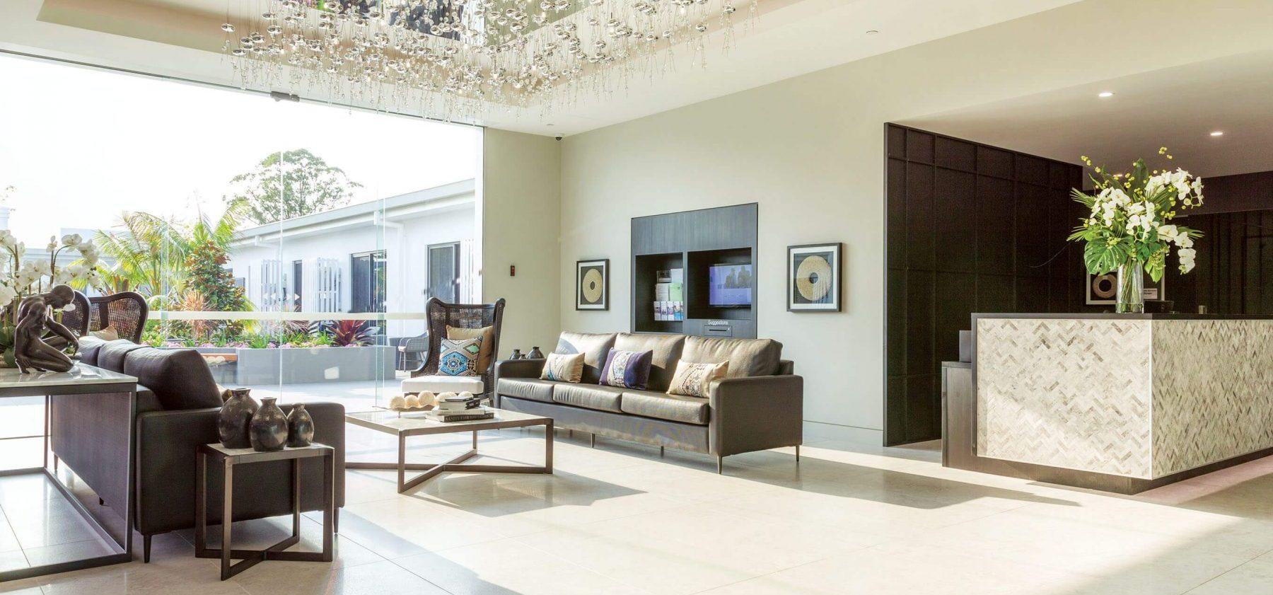 Arcare Parkwood Interior Foyer