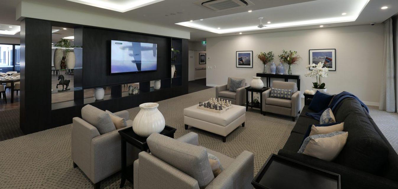 Arcare Springwood Interior Entertainment