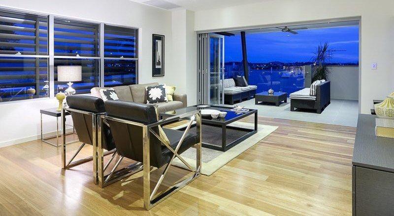 Little Street Apartments Interior Living
