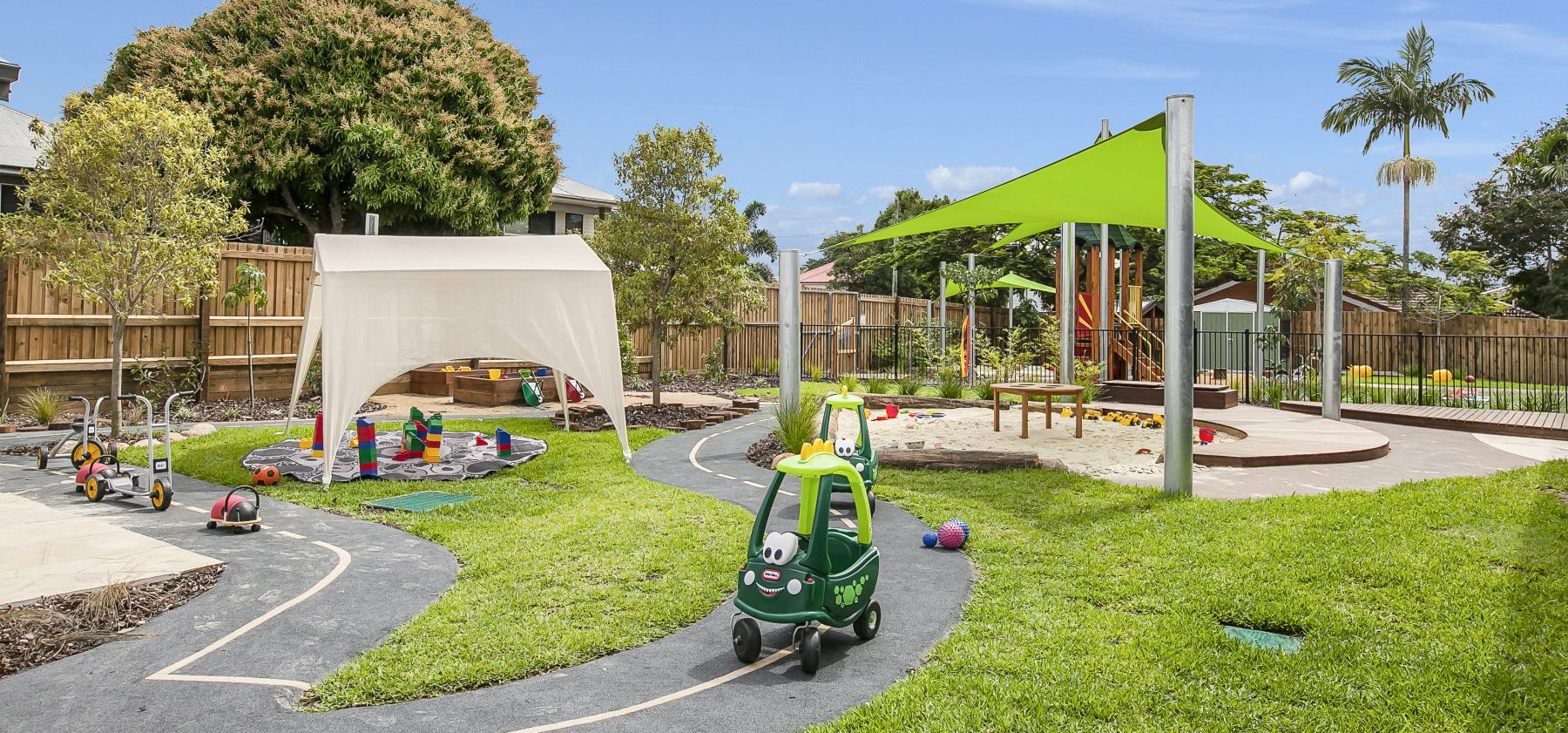 Wooloowin Childcare Exterior Play Area