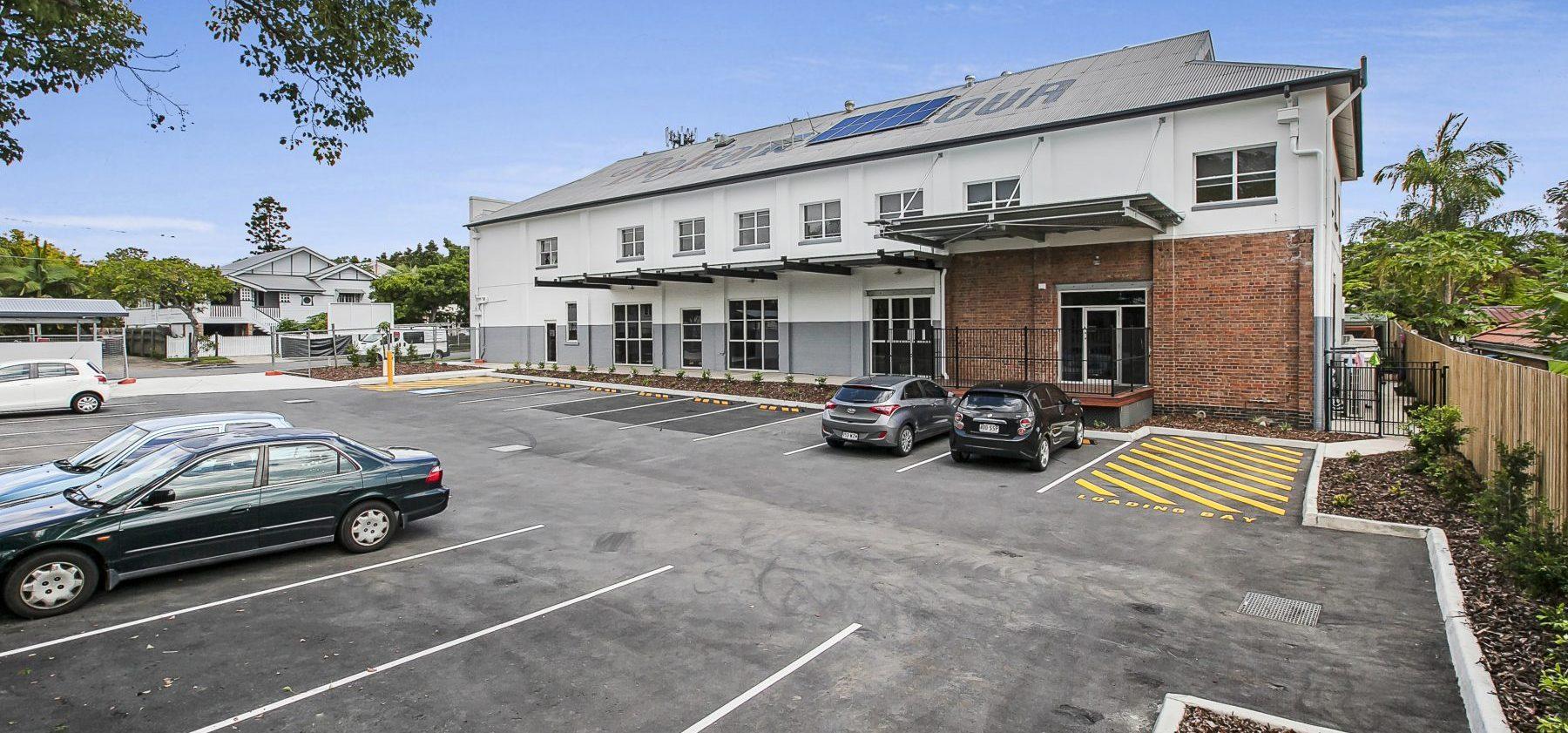 Wooloowin Childcare External Carpark