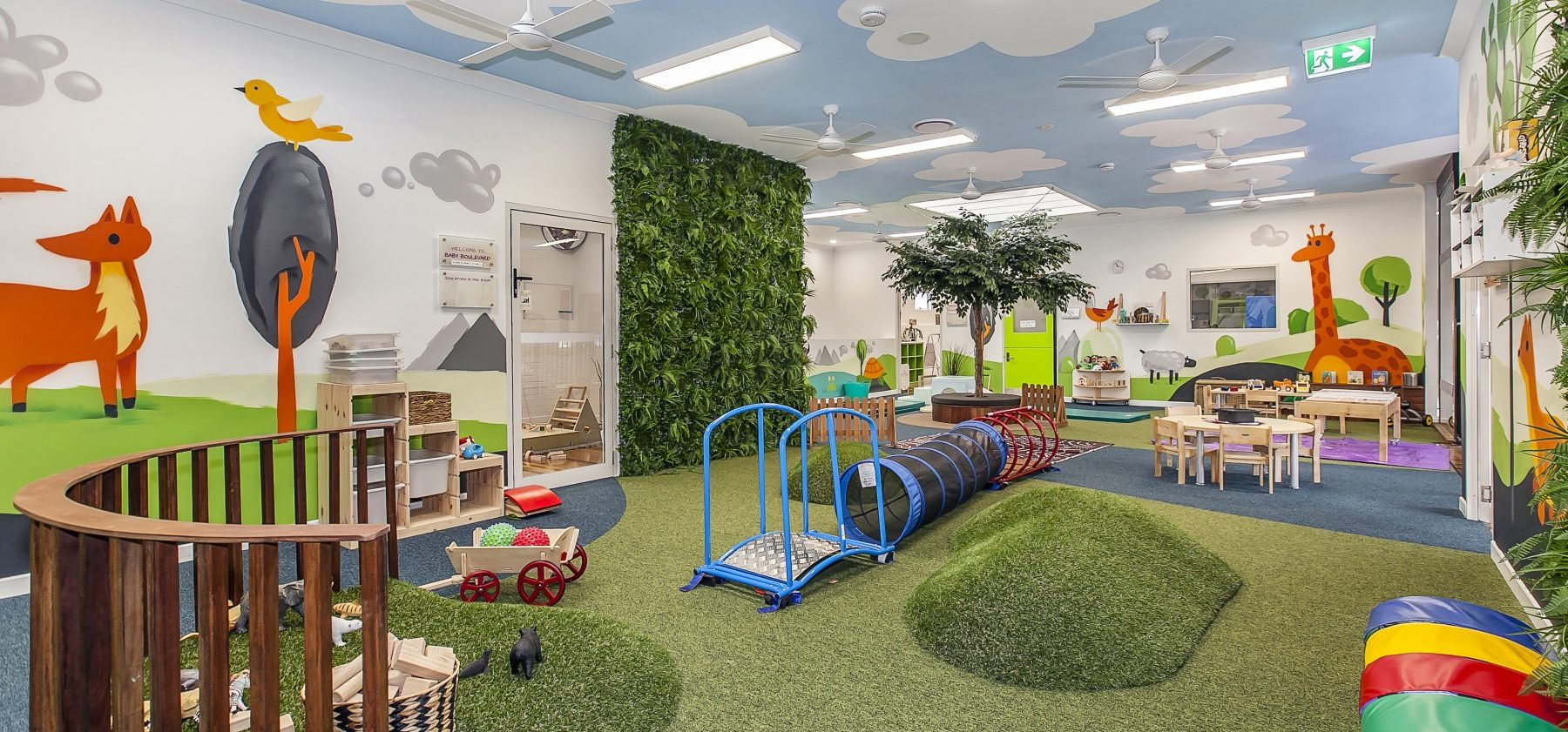 Wooloowin Childcare Interior Play Area