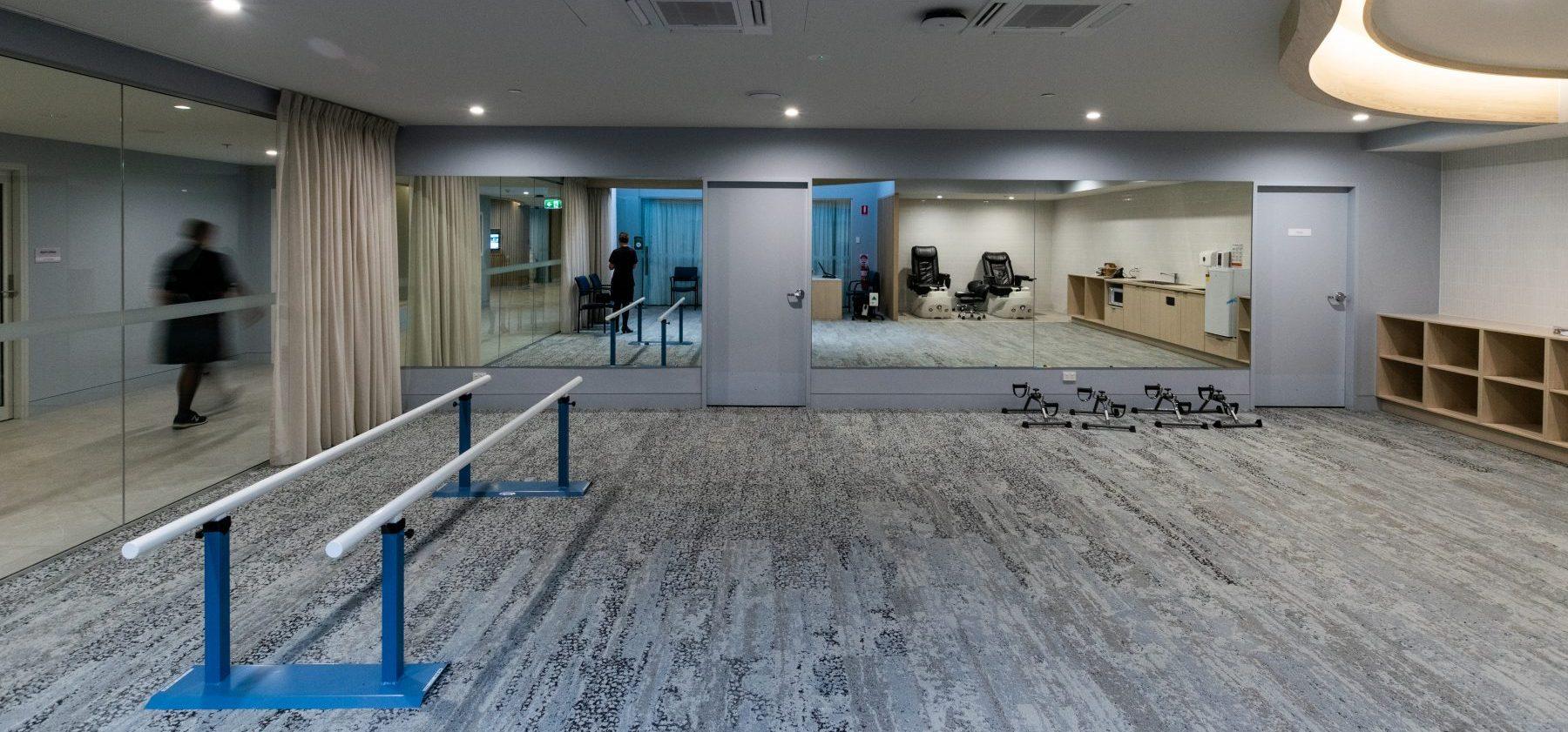 Arcare Noosa Interior PT Room