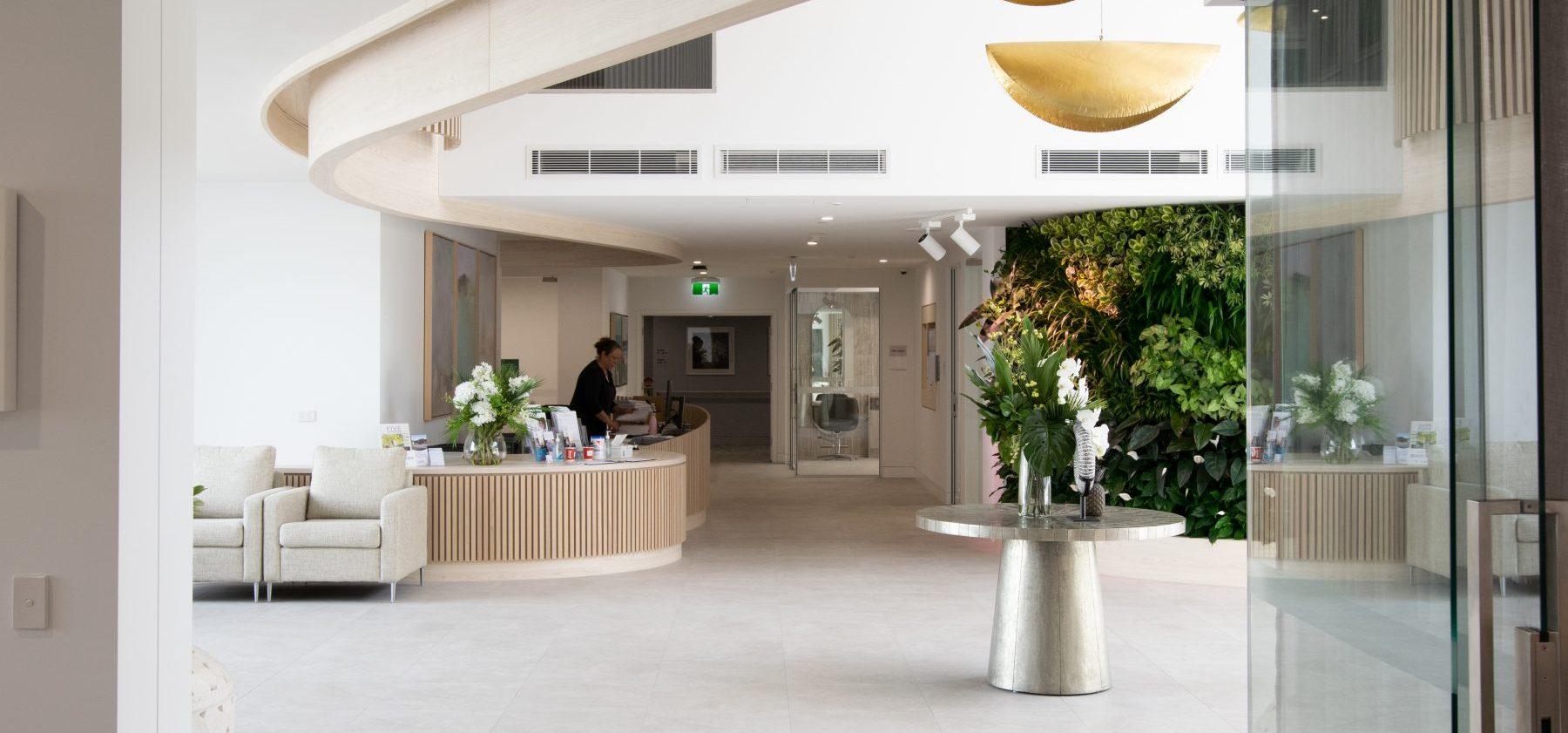 Arcare Noosa Interior entrance