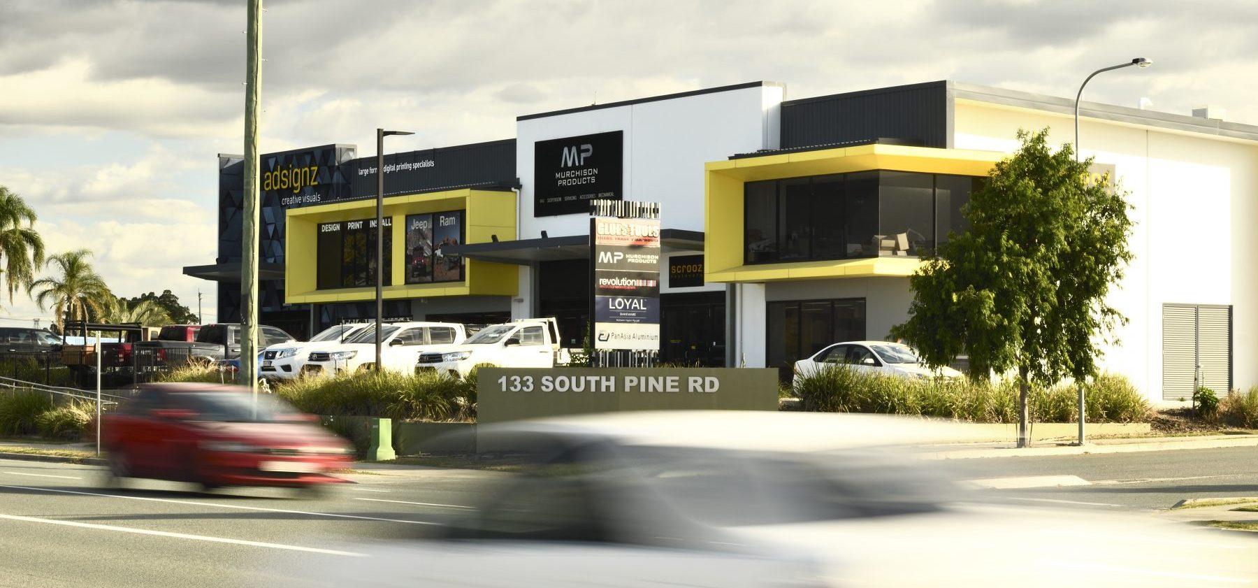 South Pine Road External Building