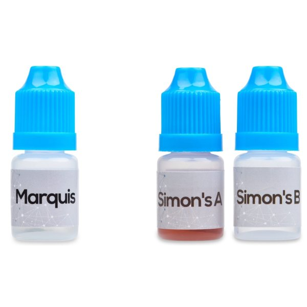 Marquis and Simon's Reagent Testing Kit Combo