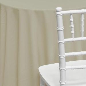 Ivory Poly Cotton Linen