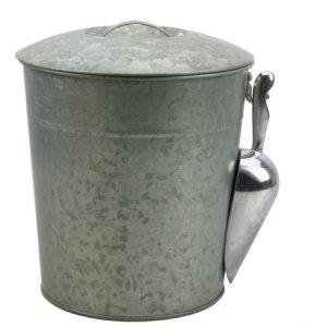 Galvanized Metal Ice Bucket