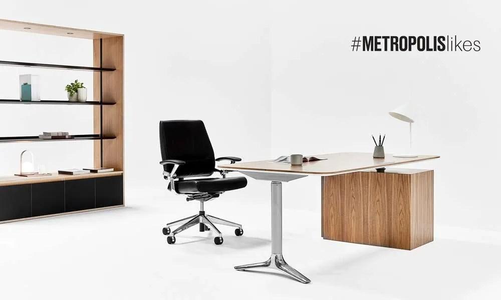 Nienkamper Gateway Desk + Ped + Shelving