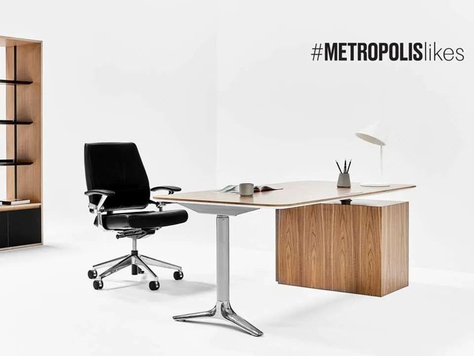 Nienkamper Gateway Desk + Ped + Shelving-2