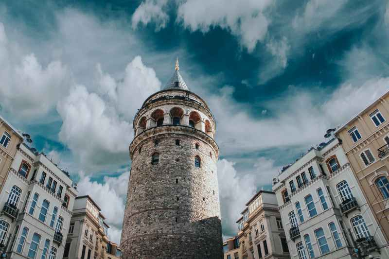 A tower in Istanbul