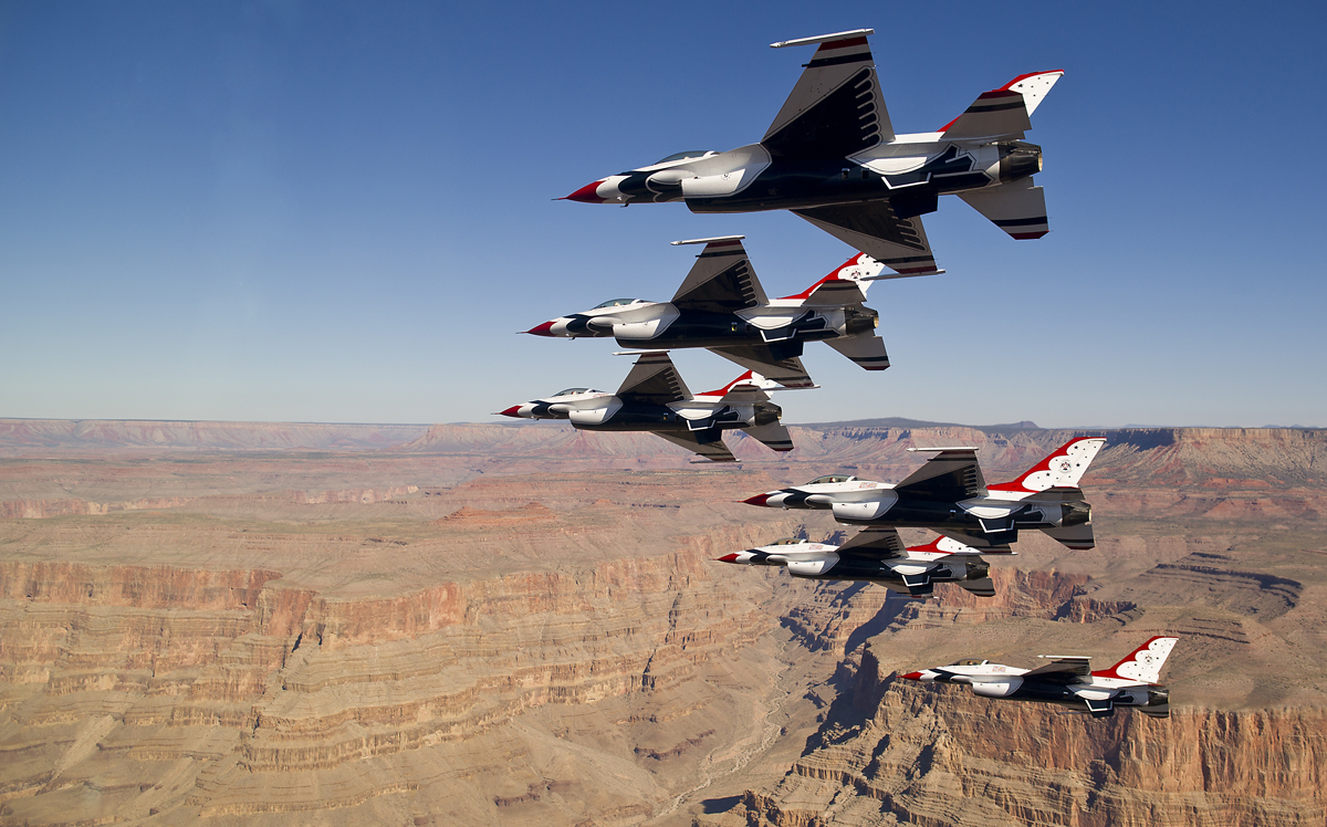 US Air Force Thunderbirds jets - Black Americans Making History