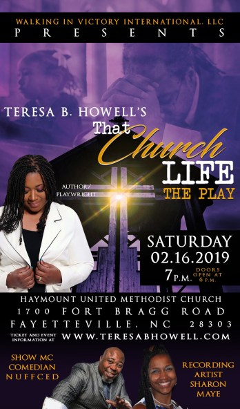 To purchase Tickets, visit http://teresabhowell.com/