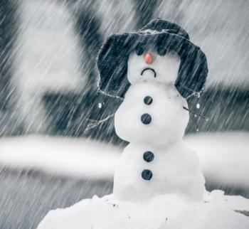 frown snowman
