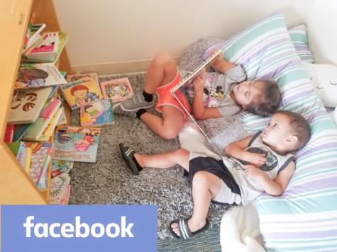 facebook face in books