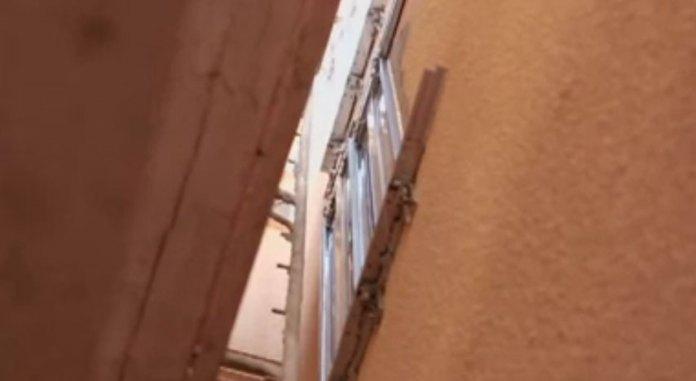 Mezolift Hoistway Doors During Construction Solar Elevator/Lift