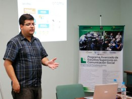Javier Pereira, gerente de contenidos interactivos del diario El Nacional. (Foto Adrews Abreu)