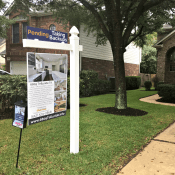 custom South Austin real estate sign