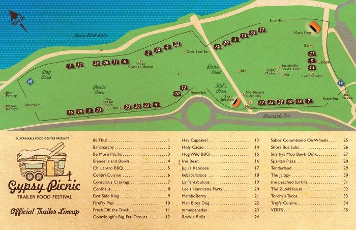 2011 gypsy picnic map
