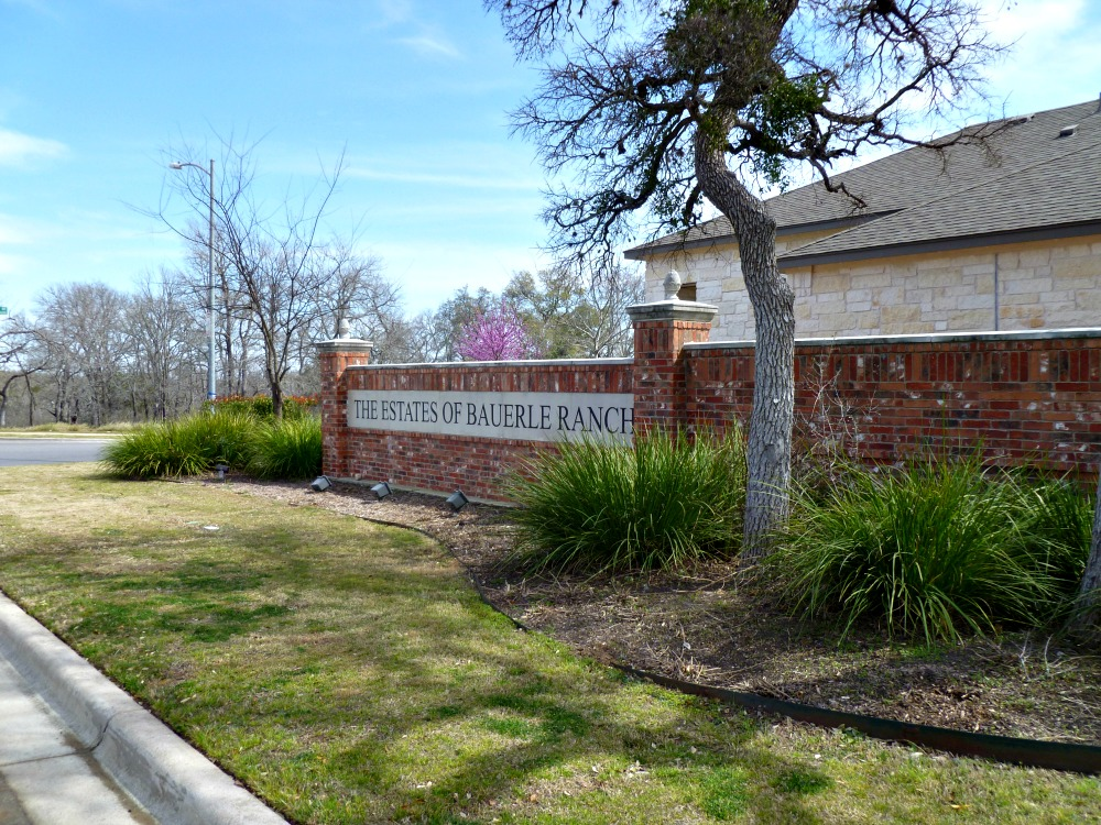 southwest austin neighborhoods best schools estates bauerle ranch